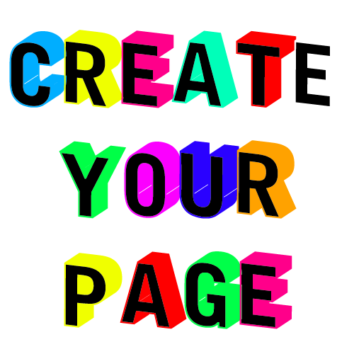 Create your page